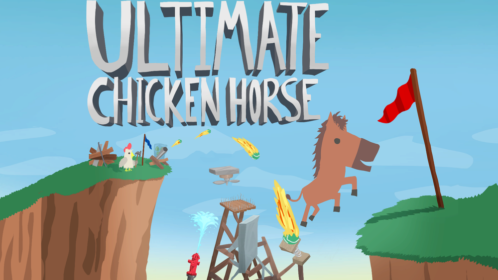 Ultimate Chicken Horse at PAX East – a Game for Best Frenemies